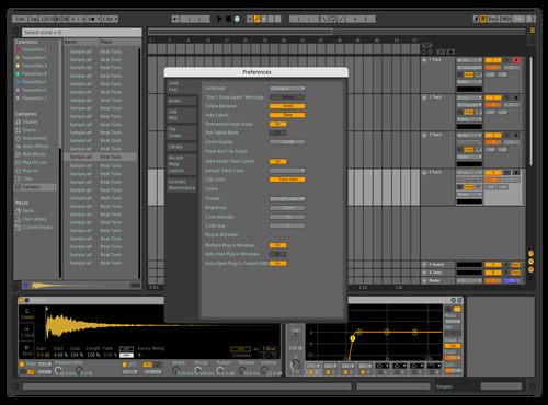 Grains Theme for Ableton 10 by david