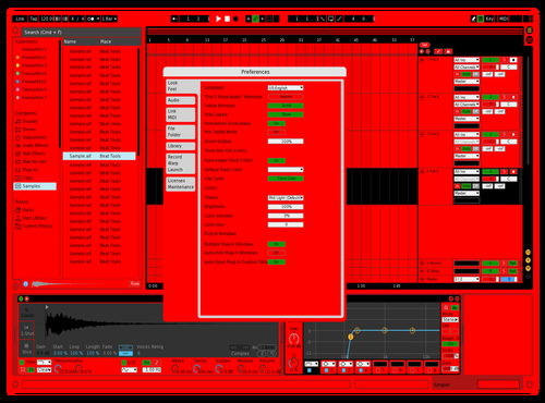 Scuderia Ferrari Theme for Ableton 10 by 242turbo