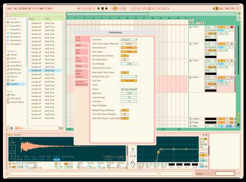 Pastel Theme for Ableton 10 by morgan