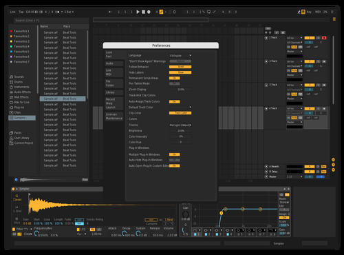 Dark 2 fixed Theme for Ableton 10 by XMental
