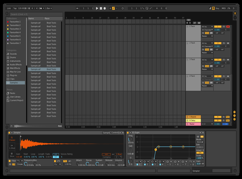Test Theme for Ableton 10 by DRoelofs