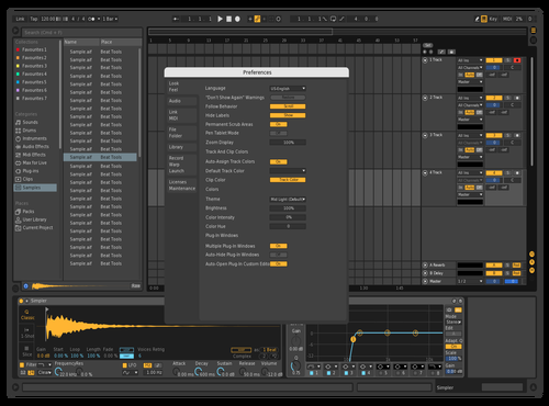 Dark VIP Theme for Ableton 10 by GRE G