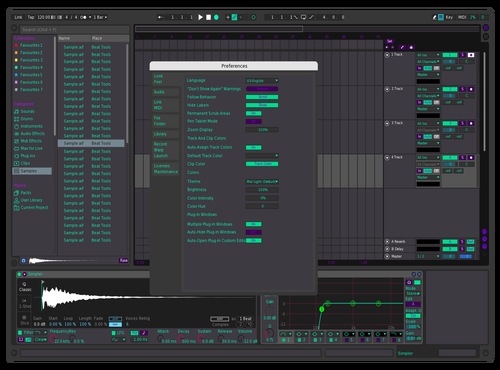 SD Theme for Ableton 10 by Harrison Brink