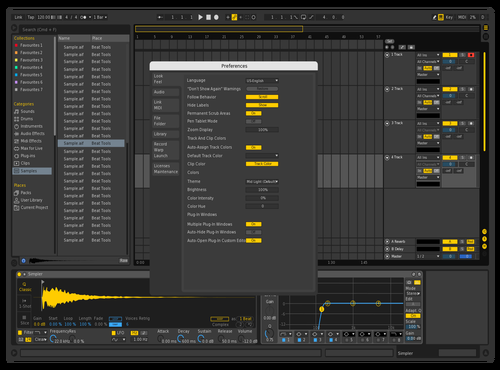 IQOS Theme for Ableton 10 by Gurney