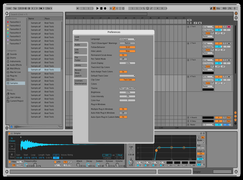 OLDLGK1 Theme for Ableton 10 by david