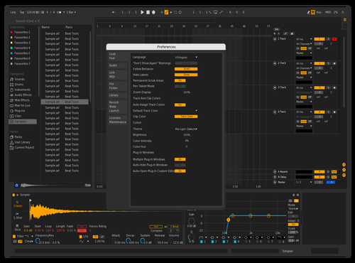 DarkPlusPlus Theme for Ableton 10 by Jade Cicada