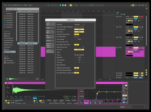 Prime Theme for Ableton 10 by allehoop