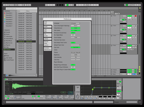 Spotify Light Theme for Ableton 10 by Crenox