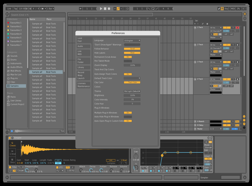 Black2 Theme for Ableton 10 by smh