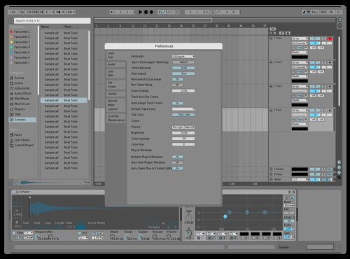 Grey-light-t Theme for Ableton 10 by rutsch