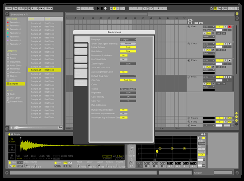 Babe Theme for Ableton 10 by Bennie J Acosta