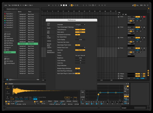 Dark UI Theme for Ableton 10 by davidmorra
