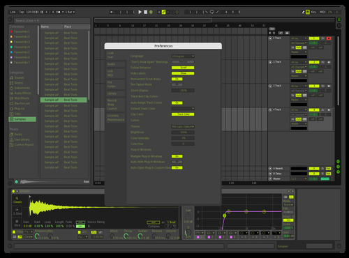 Neon 1 Theme for Ableton 10 by URxa3