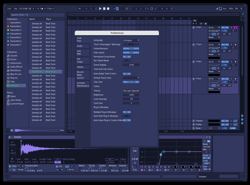 Purpleblue Theme for Ableton 10 by shawn