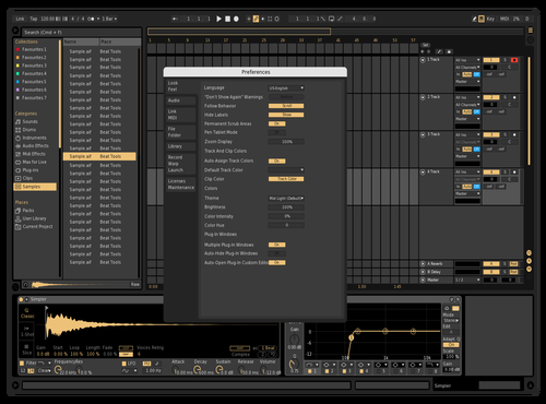 Simple Peach 1 Theme for Ableton 10 by Paul Matthew