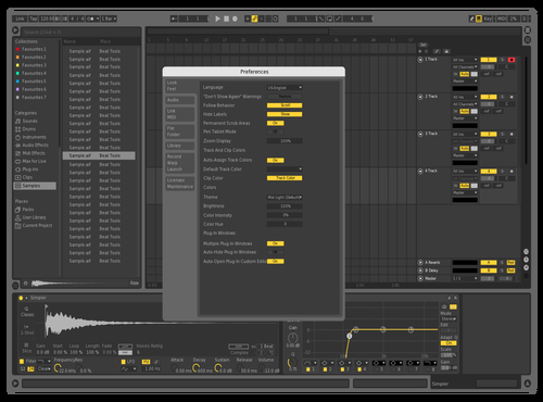WASP Theme for Ableton 10