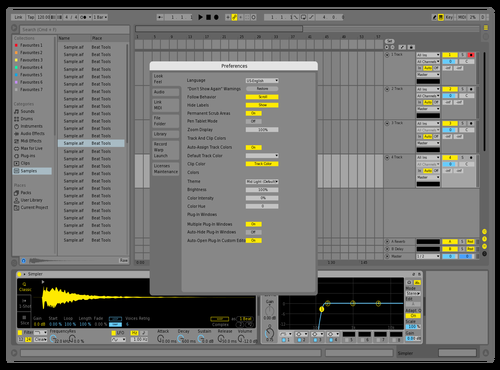 Light S Plus Theme for Ableton 10 by Acxel
