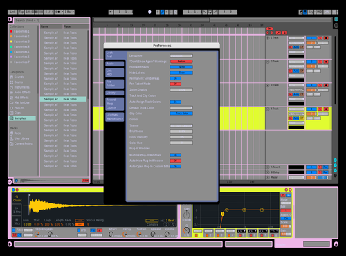 Murkmeister Theme for Ableton 10 by Bh