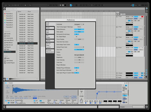 LightTheme Mass Theme for Ableton 10 by Kumo