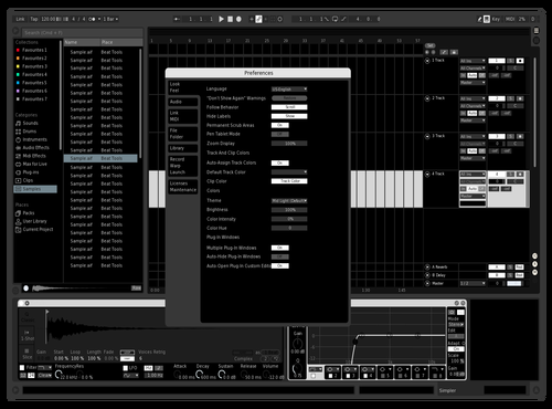 NINEX Theme for Ableton 10 by NINEX