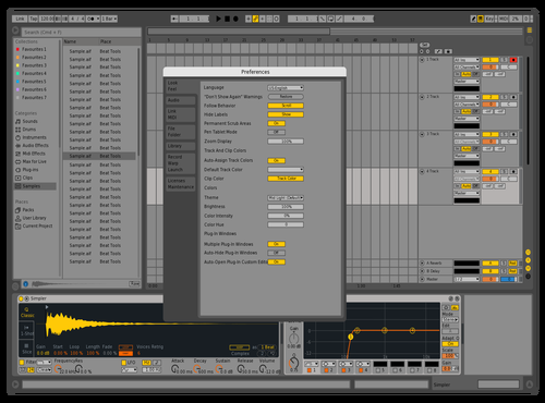 Old v3 Theme for Ableton 10 by CryoniK
