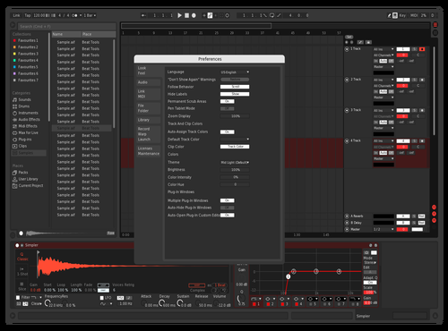 BlackNred Theme for Ableton 10 by cris