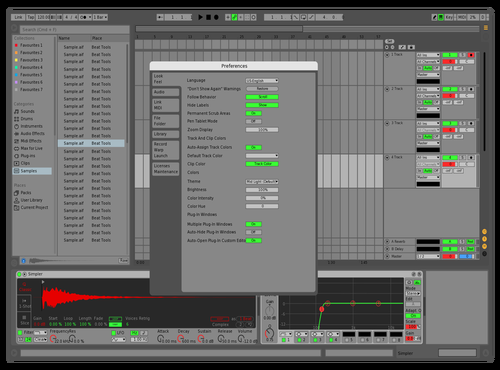 MACPRO Theme for Ableton 10 by Sai