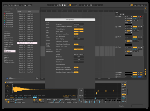 Dark 2 Theme for Ableton 10 by mdnine