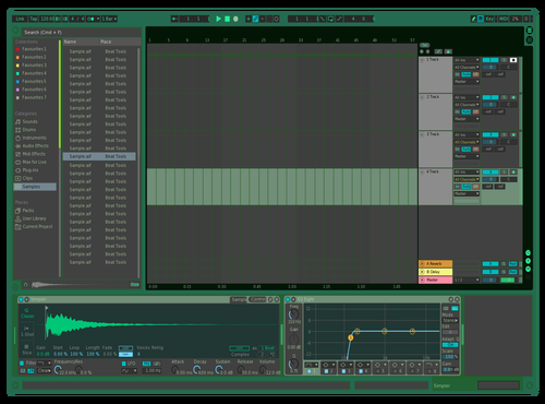 Smooth Green Theme for Ableton 10 by aaronhomer
