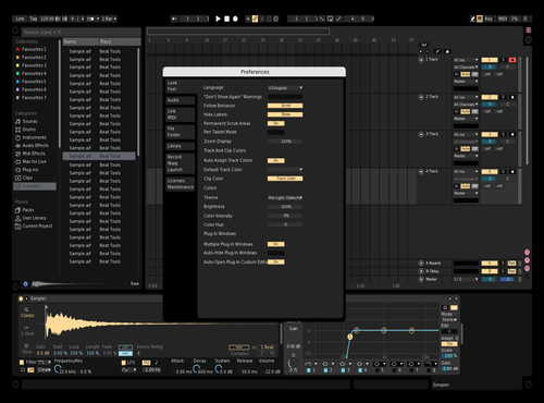 Black&White Theme for Ableton 10 by gab