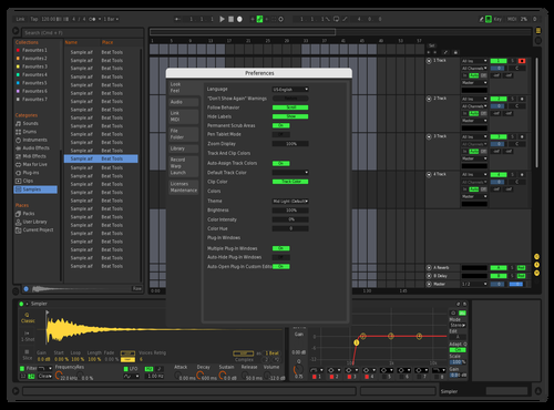 BP 2019 1 Theme for Ableton 10 by Bill Padley