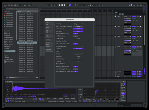 Purple Theme for Ableton 10 by soji