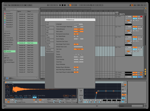 Simple Theme for Ableton 10 by davidmorra