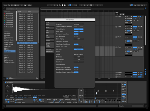 Julodose Theme for Ableton 10 by Joshua Beiley