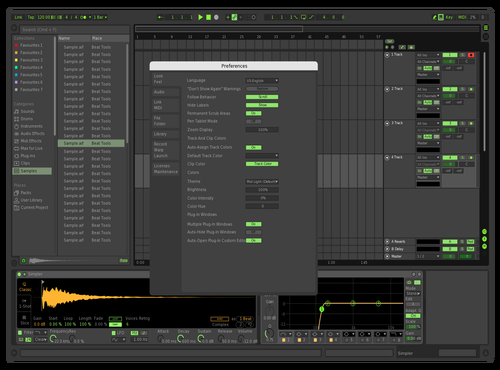 DARK #1 Theme for Ableton 10 by Vittorio