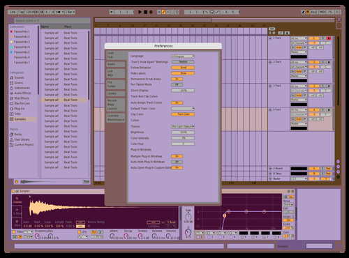 Lilac Theme for Ableton 10 by jeler