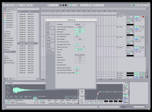 FlatLight Theme for Ableton 10 by Maximum