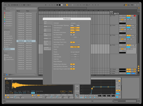JB-Light Theme for Ableton 10 by JoNasty3