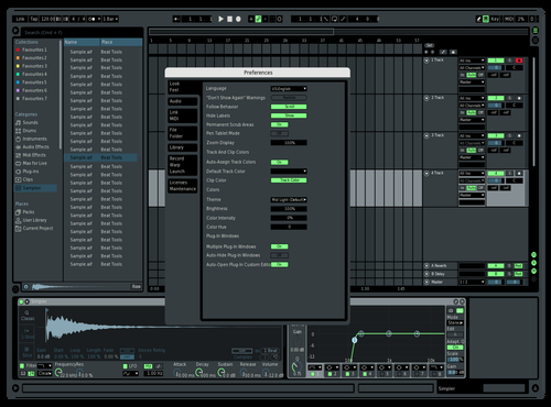 Testing Theme for Ableton 10 by piet