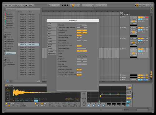 Test Theme for Ableton 10 by SP