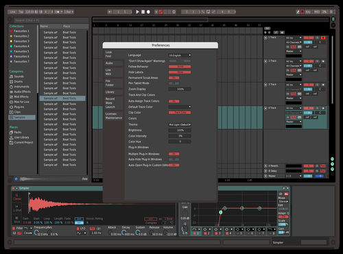 Etititititit Theme for Ableton 10 by ben