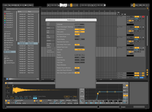 MidX Theme for Ableton 10 by Nauj