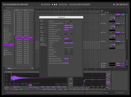 RET Theme for Ableton 10 by RL88