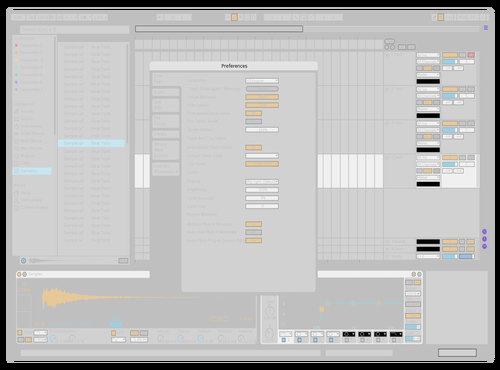 Androse Clean Theme for Ableton 10 by Androse