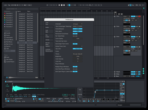 Dark Beauty Theme for Ableton 10 by iamLennart