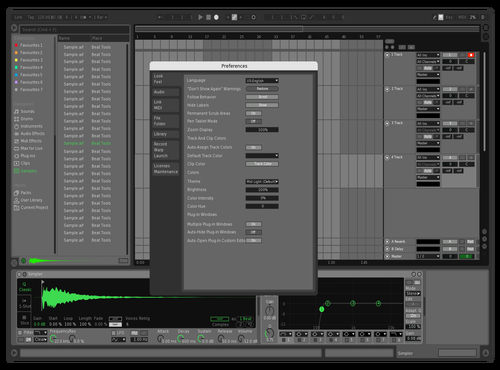 SPO Theme for Ableton 10 by Brother Xah