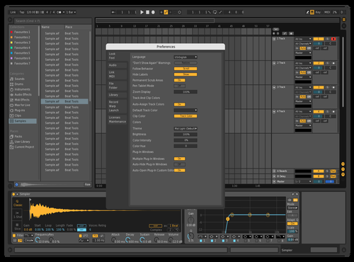 Darkerv2 Theme for Ableton 10 by CHANKIS SUPREME