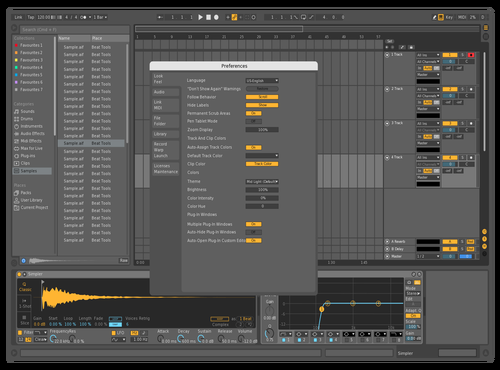 MyMidDark Theme for Ableton 10 by rob