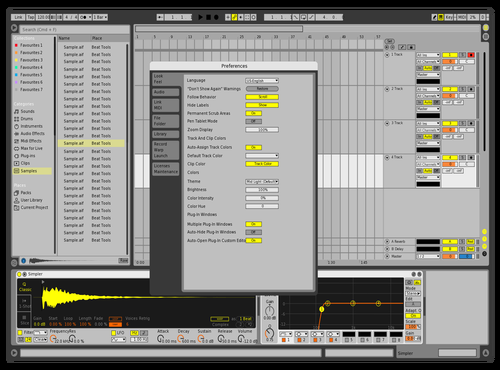Classic1 Theme for Ableton 10 by david