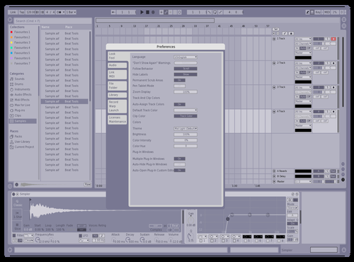 Variante 1 Theme for Ableton 10 by matias